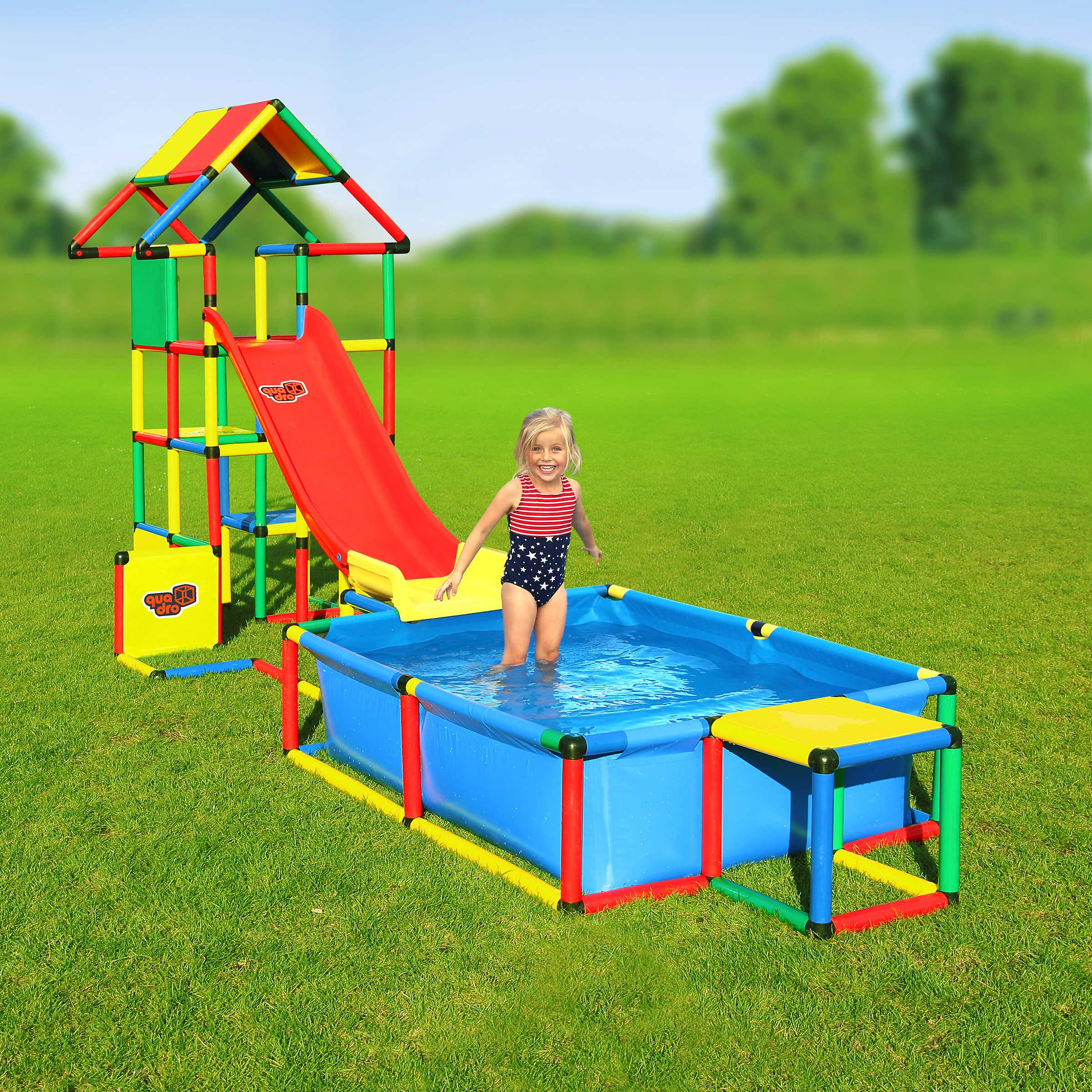 Klettergerüste fördern dein Kind umfassend  QUADRO World Tür