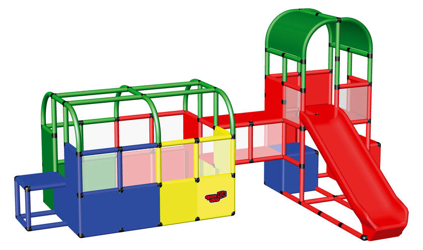 QUADROpro Ball Pit with Tunnel and Play Tower (51045)
