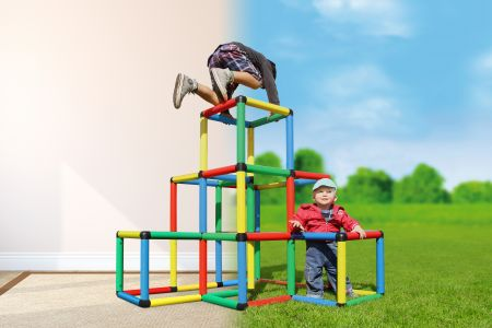 Quadro Climbing Pyramid A0130 for Indoor and Outdoor