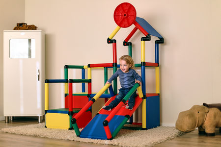 QUADRO Evolution: Baby Castle with Ramp (A0136)